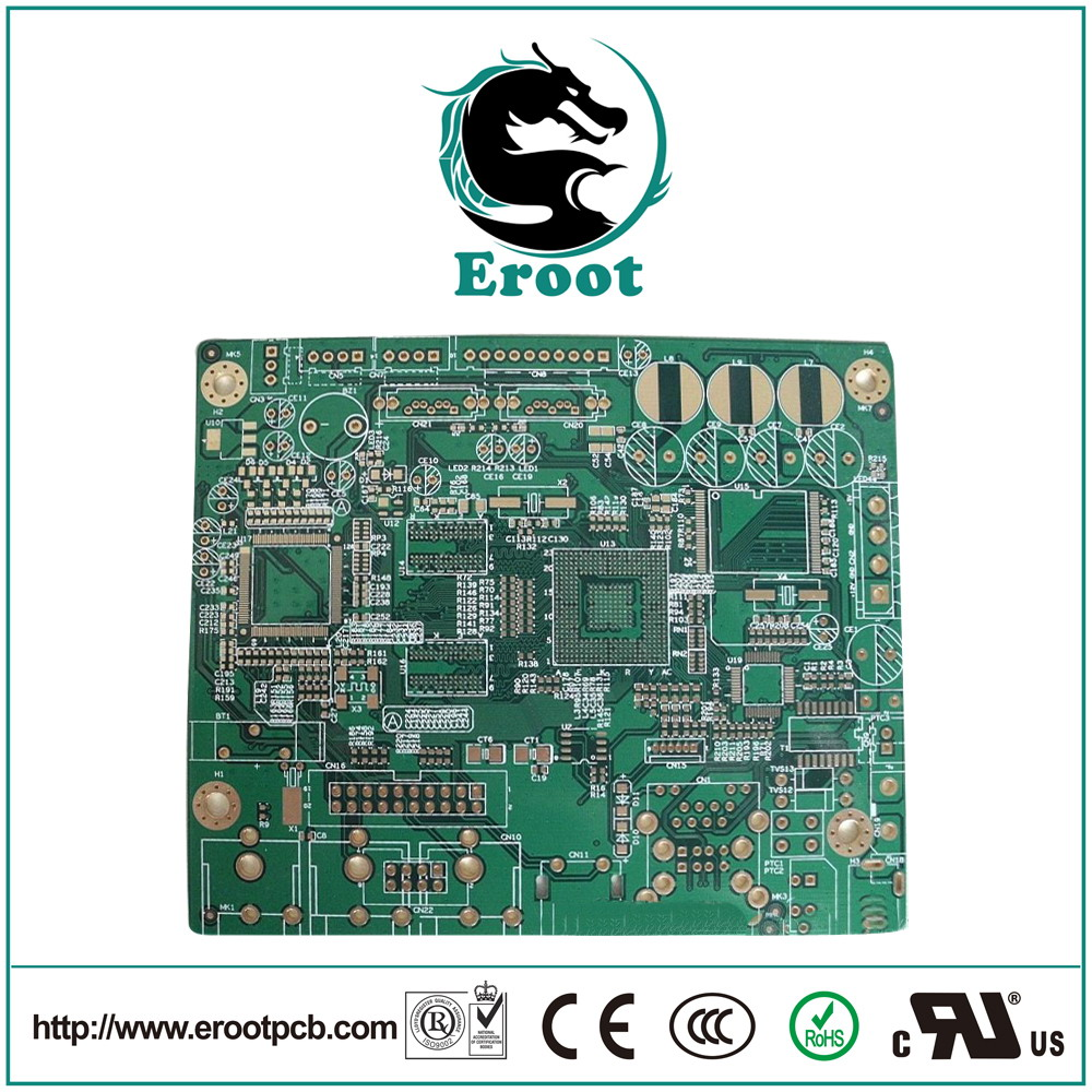 HDI PCB with Immersion Gold Finishing